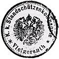 """""""Vecchio timbro postale di Folgaria dove si può chiaramente leggere il nome Vielgereuth"""""""